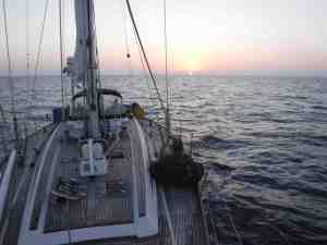 Last Sunset of Crossing