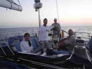 Last day at sea