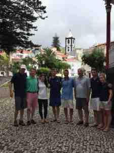 Crew in Horta